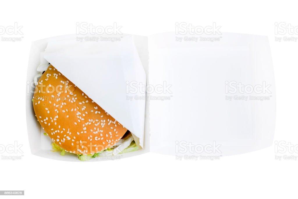 Burger dans une boîte - Photo