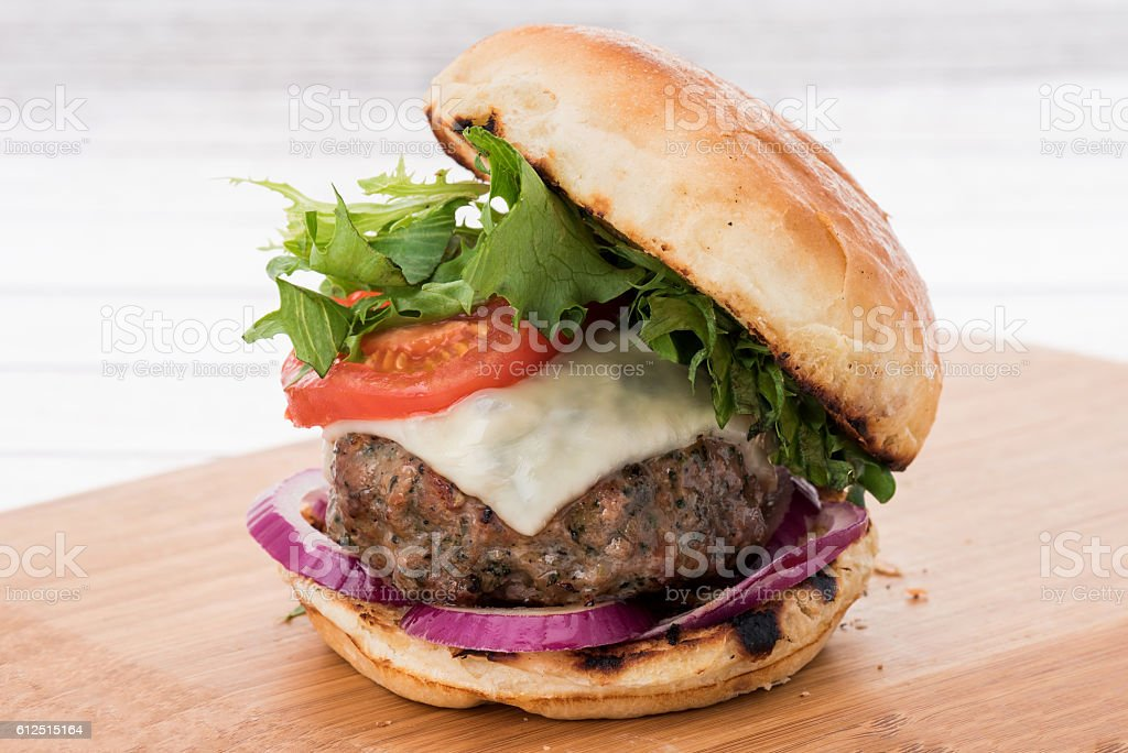 Burger in a brioche bun - Photo