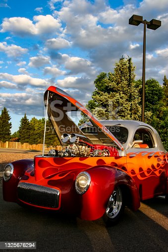 istock Burger King Classic Car show in Denver 1325676294