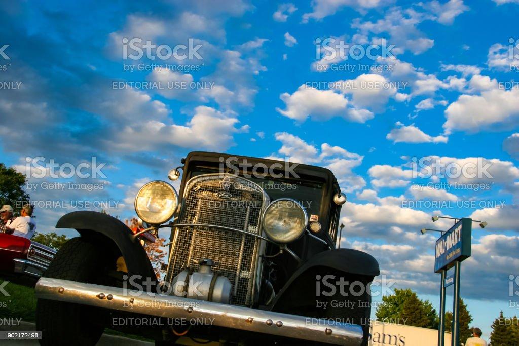 Burger King Classic Car Show In Denver Stock Photo IStock - Classic car show denver