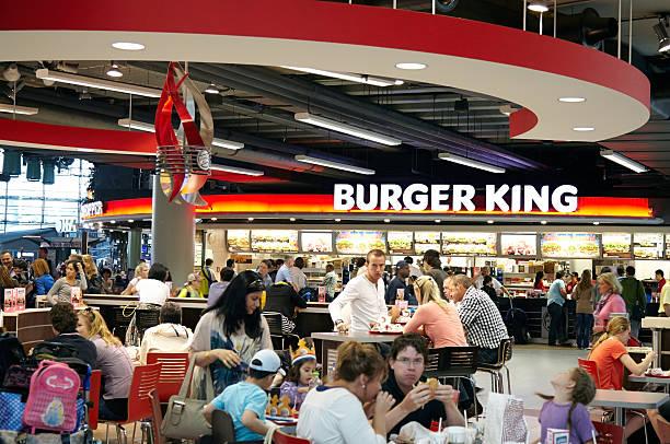 restaurant Burger King-Size-Bett – Foto