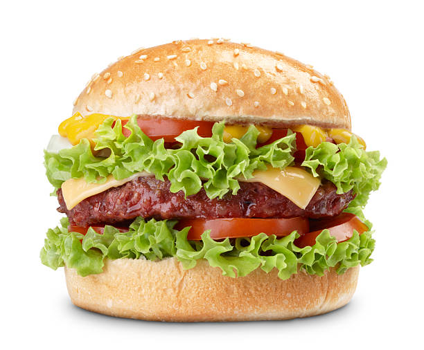 burger - hamburgers stockfoto's en -beelden