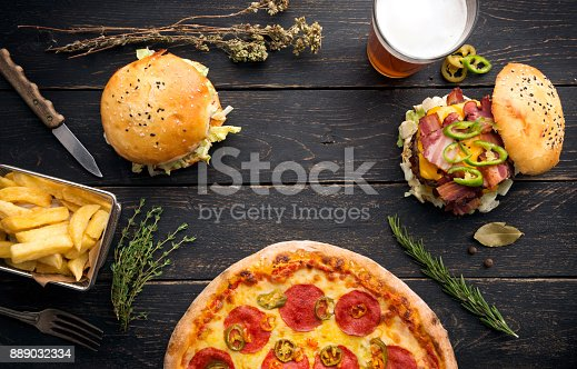 istock burgers with herbs and vegetables 889032334