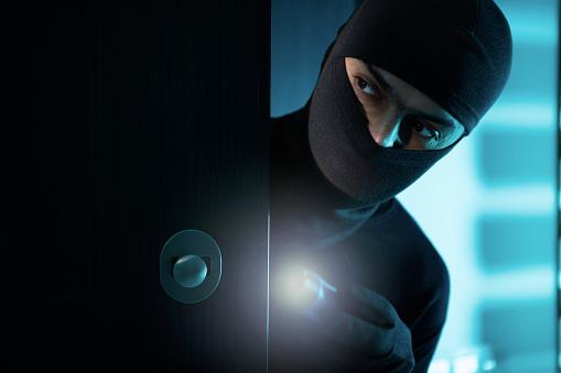 istock Burglar inside 835787046
