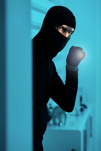 istock Burglar inside 835790898