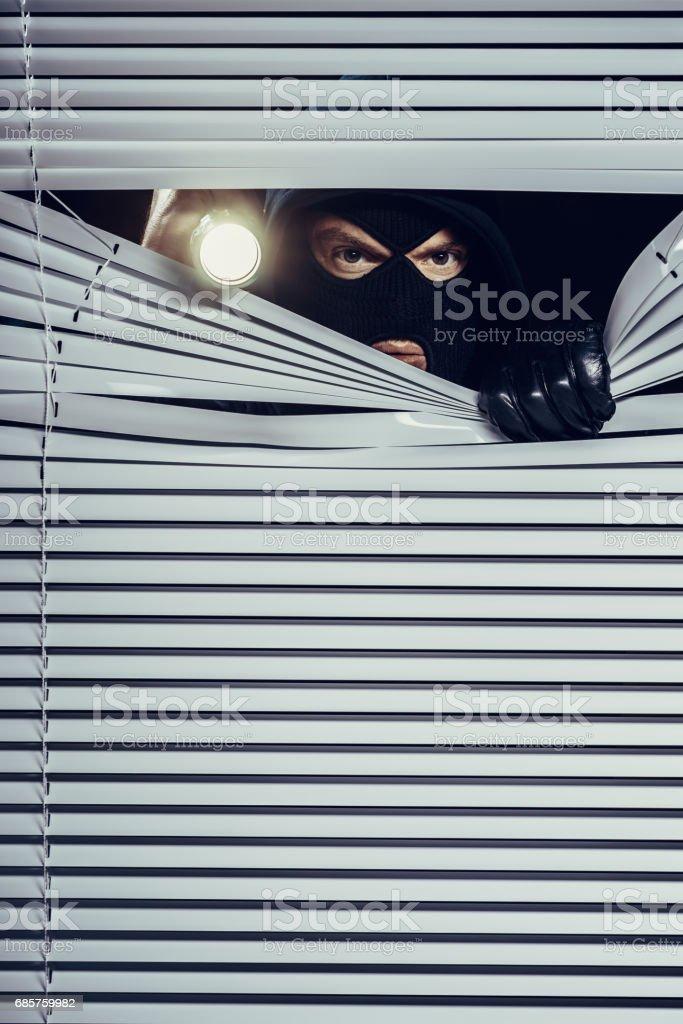 Burglar foto stock royalty-free