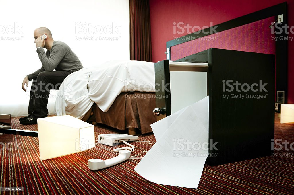 Burglary stock photo