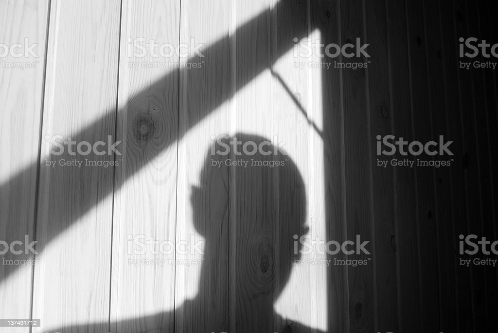 Burglary royalty-free stock photo