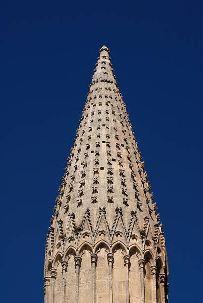 Burgos Cathiedral Spire stock photo