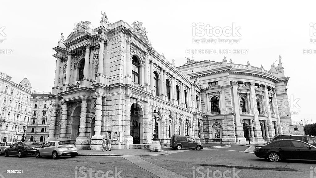 Burgtheater Wien royalty-free stock photo