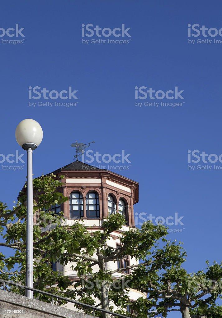 Burgturm in Düsseldorf royalty-free stock photo