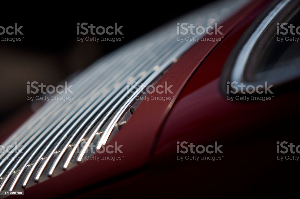Burgundy Grille stock photo