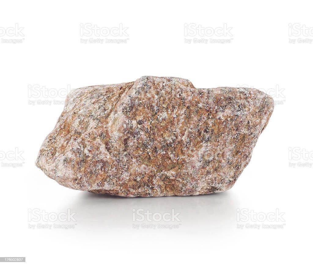 Burgundy rough stone royalty-free stock photo