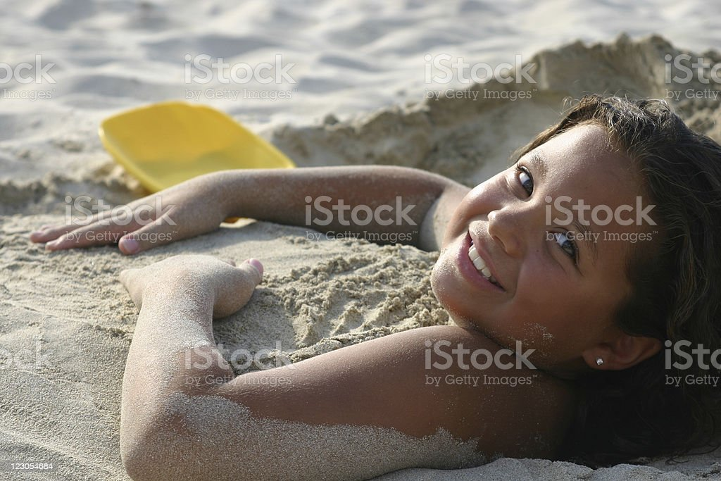 Buried Bliss stock photo