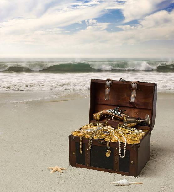 buried treasure - gömülü stok fotoğraflar ve resimler