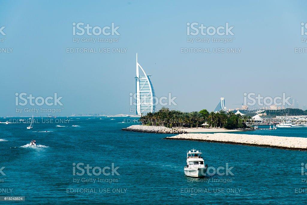 Burj Al Arab Hotel, Dubai, UAE stock photo