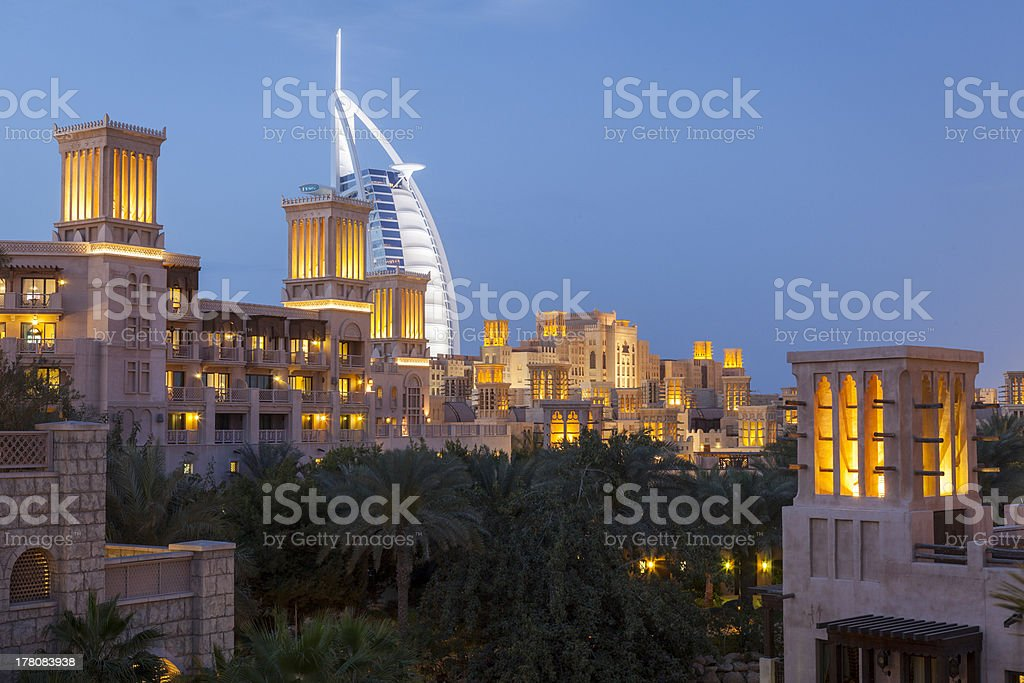 Burj al Arab. stock photo