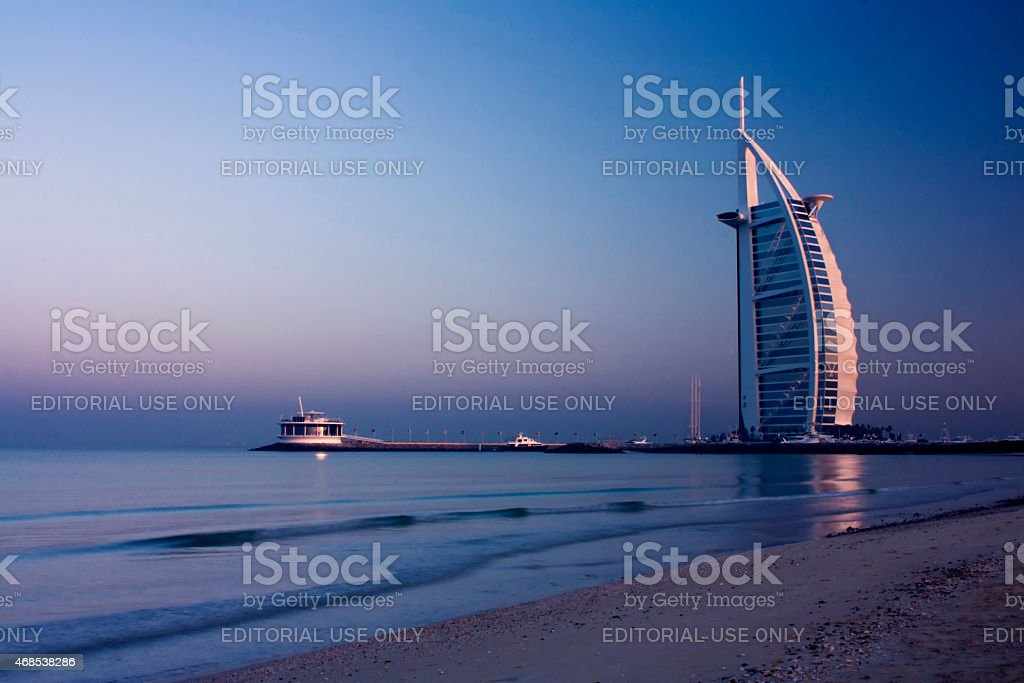 Burj Al Arab stock photo