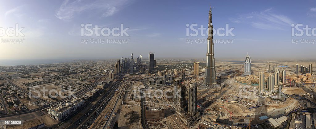 Burj Dubai royalty-free stock photo