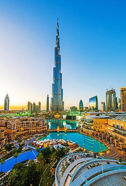 Burj Khalifa in Dubai – Foto