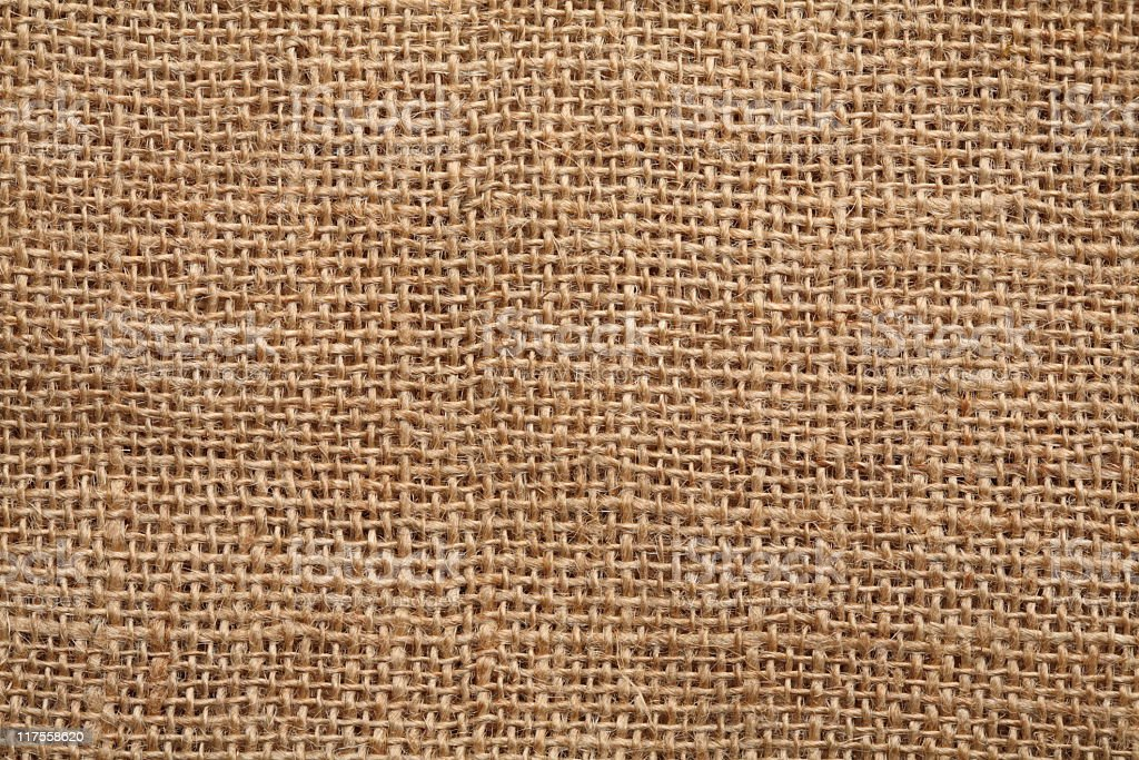 Burlap (Canvas) Background royalty-free stock photo