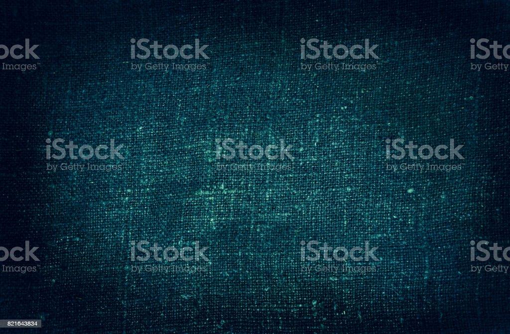 Burlap close-up, natural coarse cloth stock photo