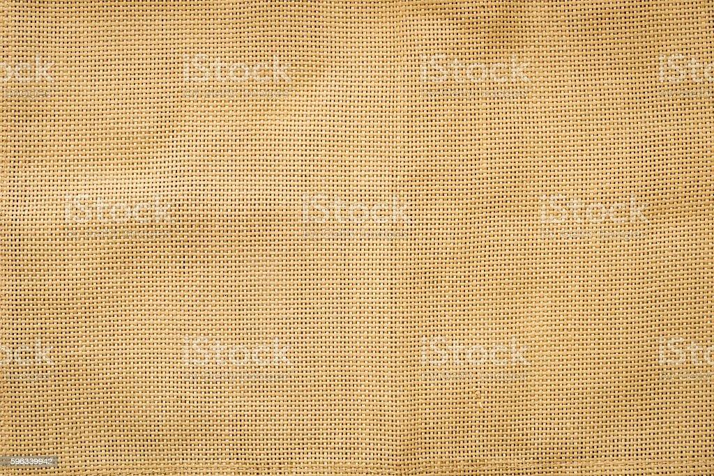 Burlap fabric background royalty-free stock photo