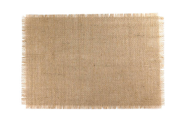 Burlap Fabric isolated on white background Burlap Fabric isolated on a white background burlap stock pictures, royalty-free photos & images