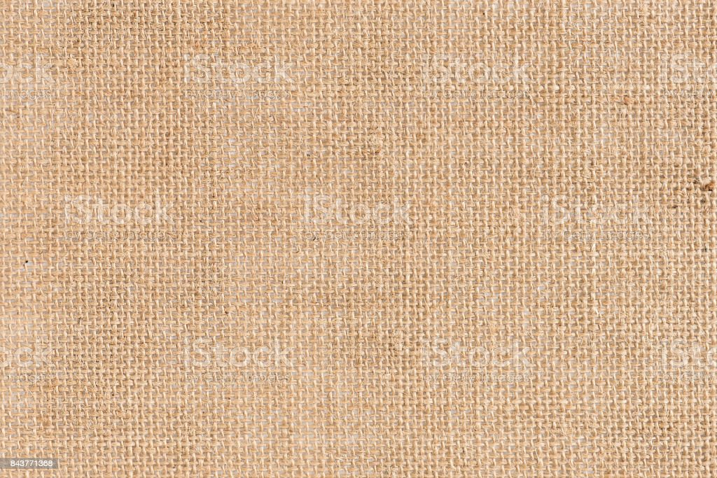 Burlap fabric texture use for background. stock photo