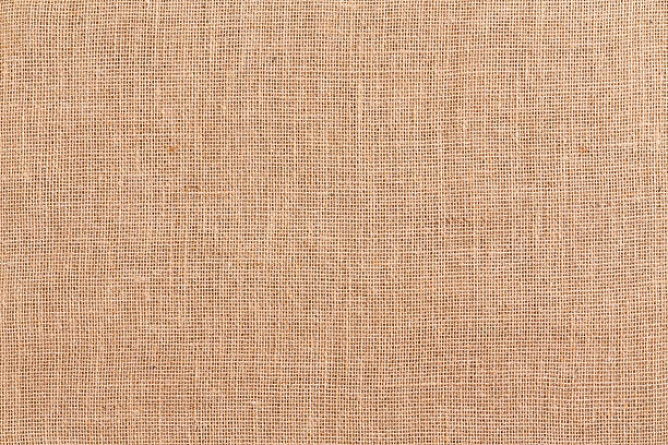 burlap or hessian textile background texture - sisal stock pictures, royalty-free photos & images