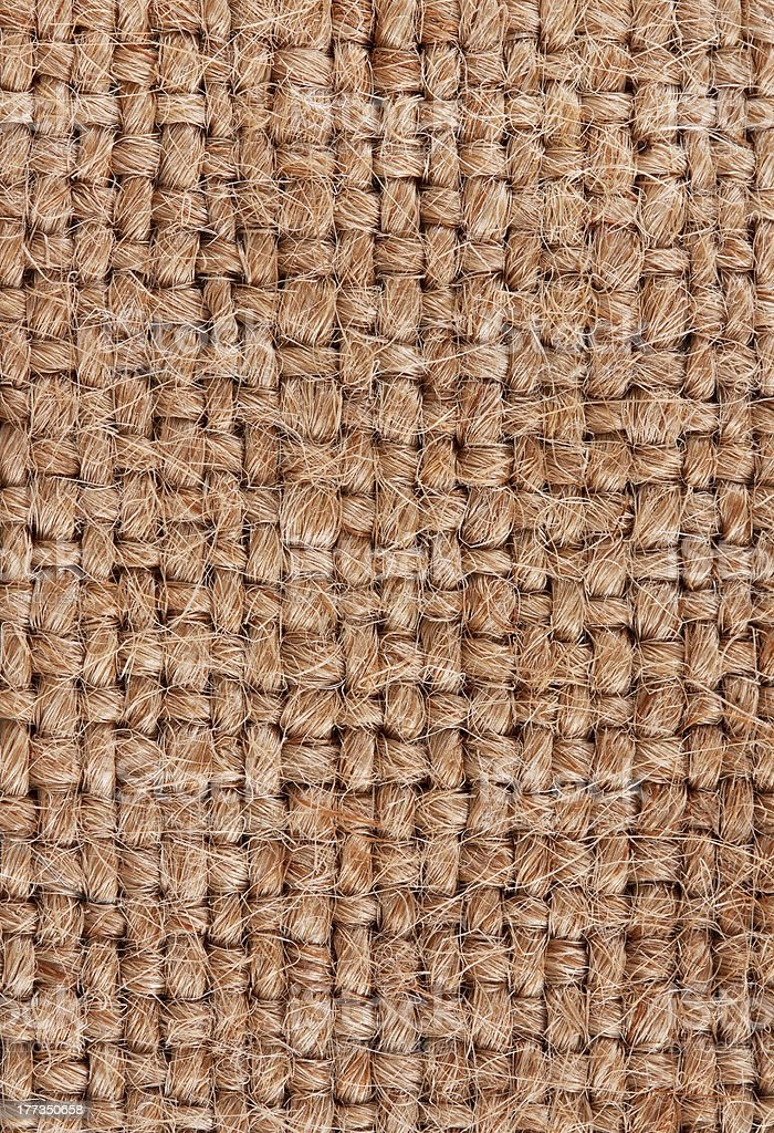 burlap royalty-free stock photo