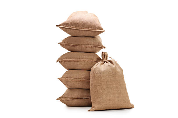 burlap sacks - sack stock pictures, royalty-free photos & images