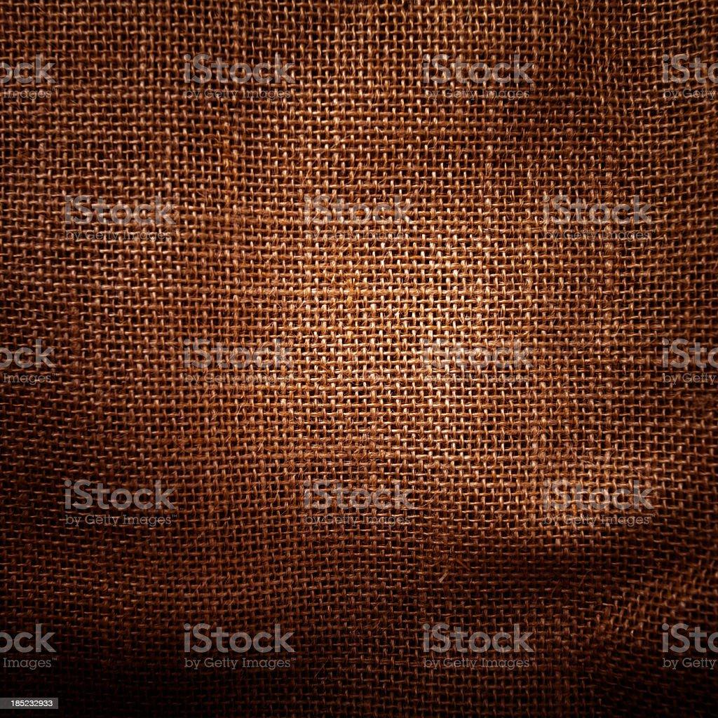 Burlap texture background royalty-free stock photo