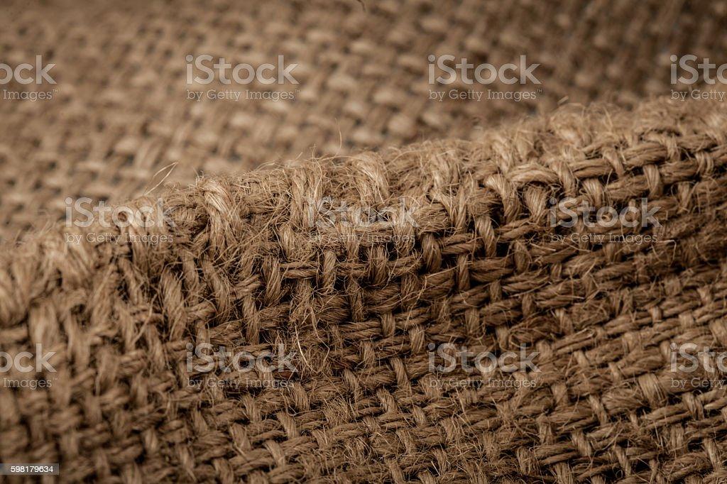 Aniagem de Cânhamo textura de fundo  foto royalty-free