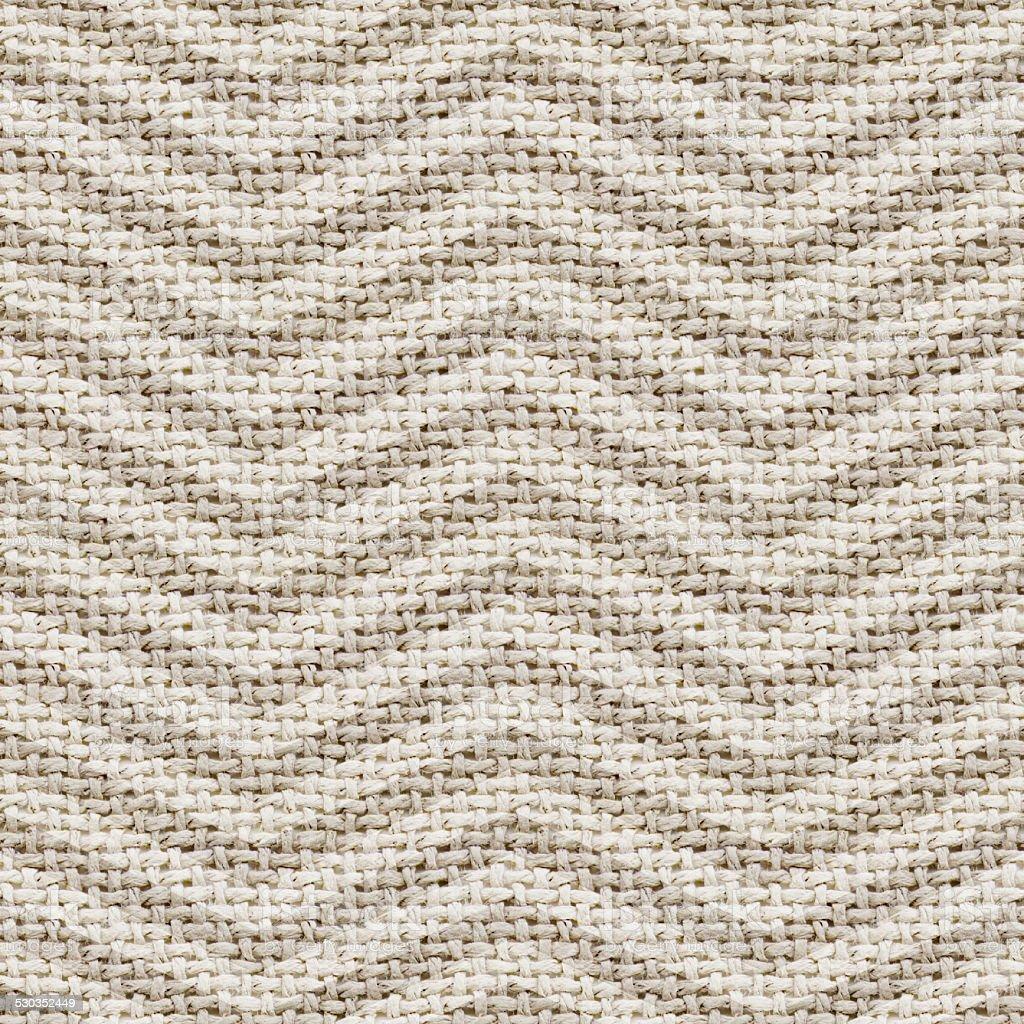 burlap texture background with chevron - tileable, seamless pattern stock photo