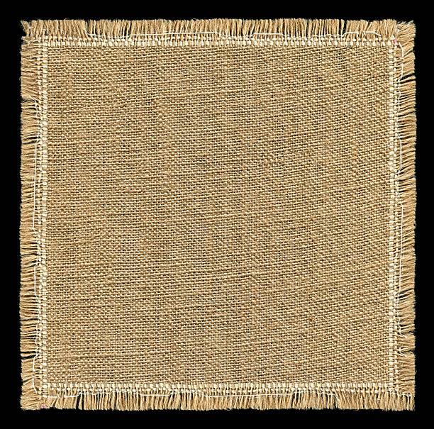 jute textur mit full frame - teppich baumwolle stock-fotos und bilder