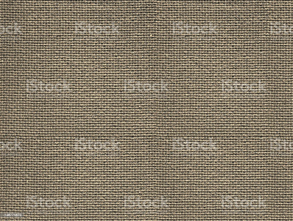 Burlap Weave Texture or Background (ALL in focus) royalty-free stock photo