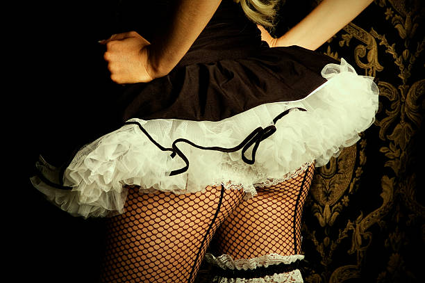 burlesque dancer - burlesque stock photos and pictures