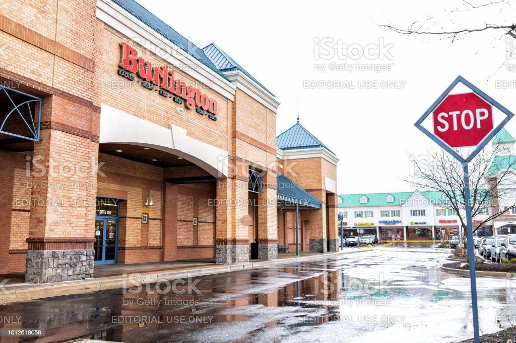 Burlington Coat Factory Clothing Store In Loudoun County Virginia
