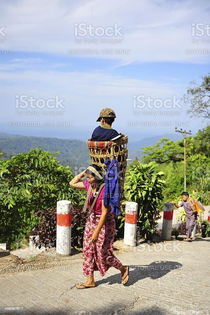 Burmese stock photo