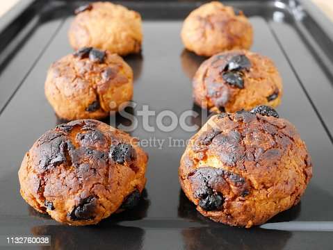 istock Burned cornflake and raisin cookies 1132760038