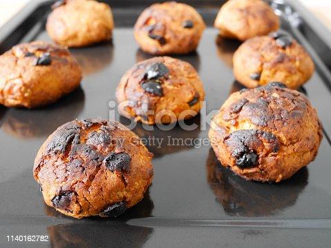 istock Burned cornflake and raisin cookies 1140162782