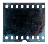 burned film material