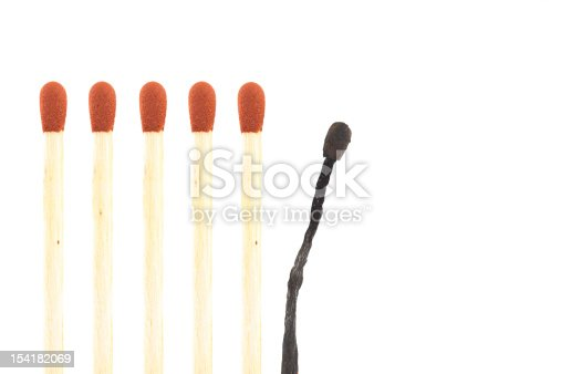 istock burned out match 154182069