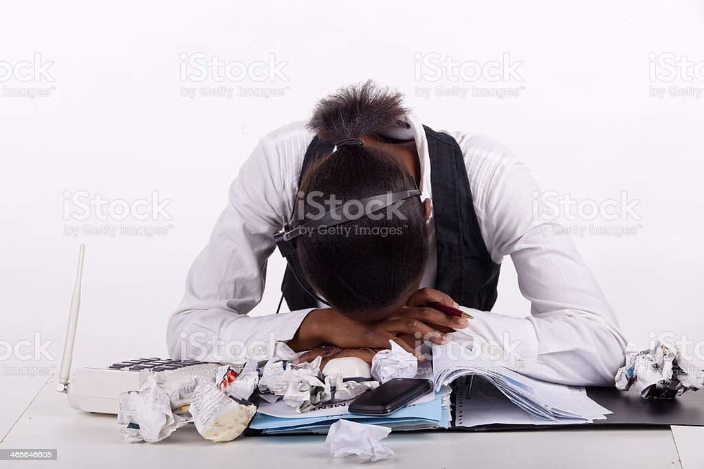 Burned out royalty-free stock photo