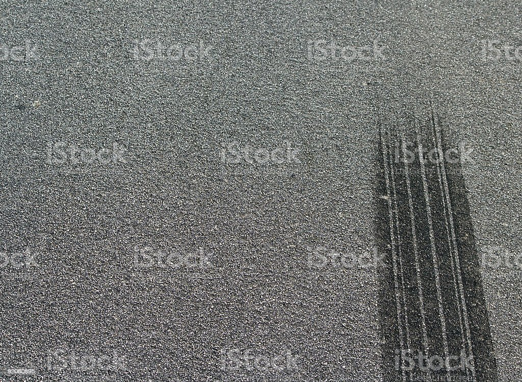 Burned Rubber stock photo