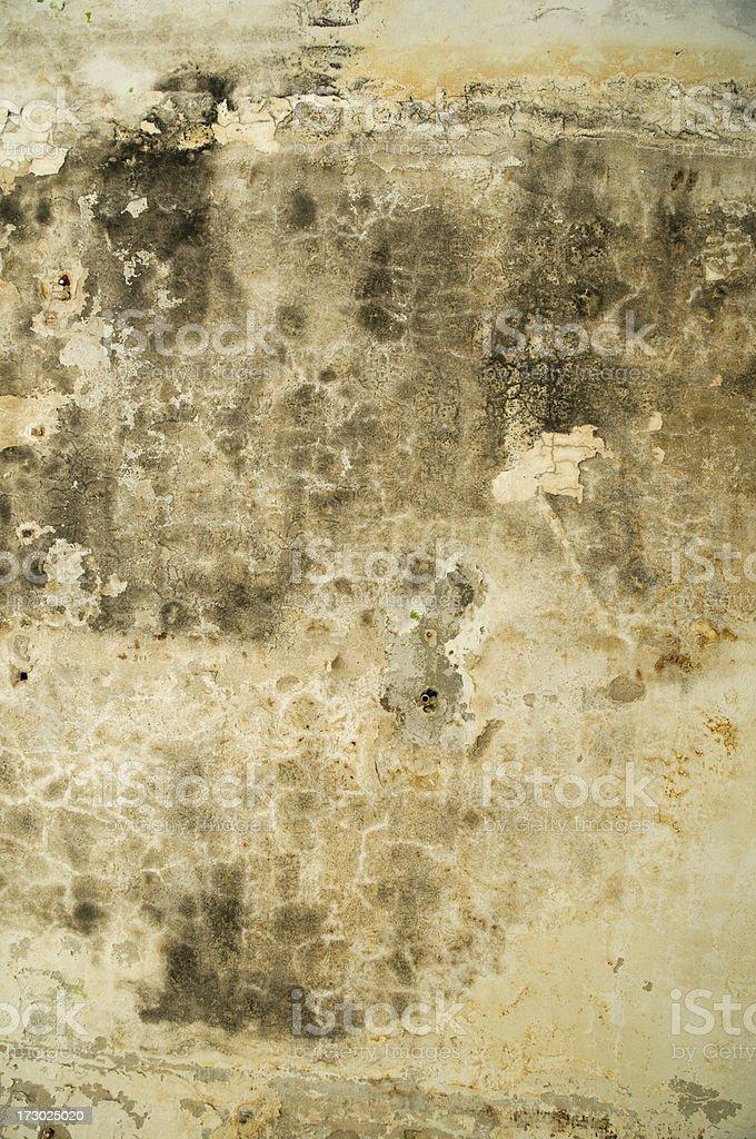Burned Wall royalty-free stock photo