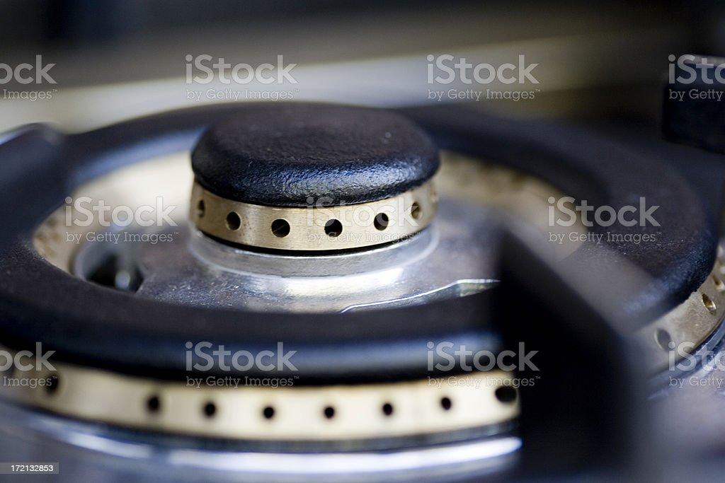 Burner detail royalty-free stock photo