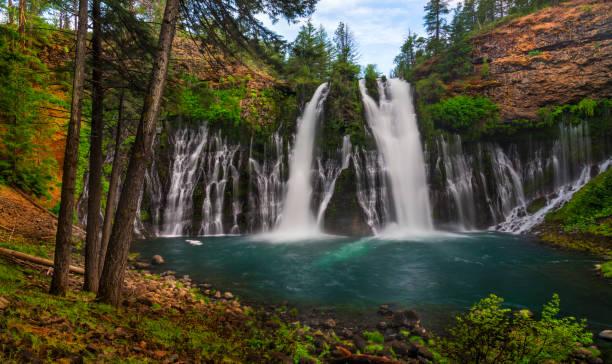 Burney Falls, CA stock photo