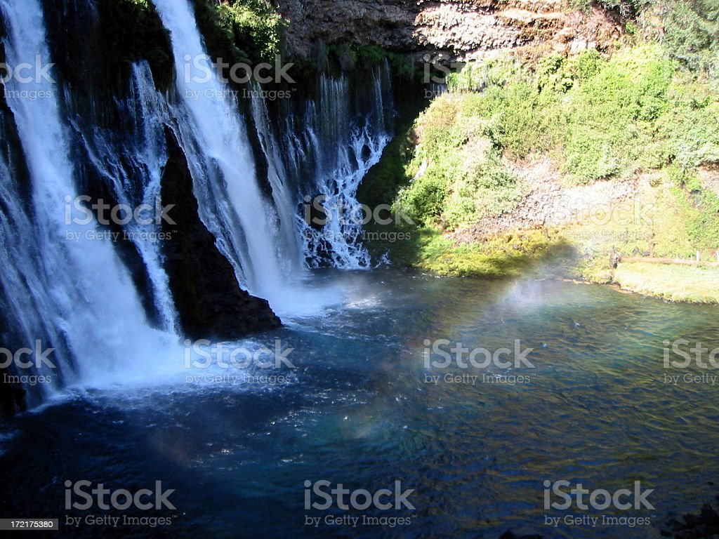 Burney Falls royalty-free stock photo
